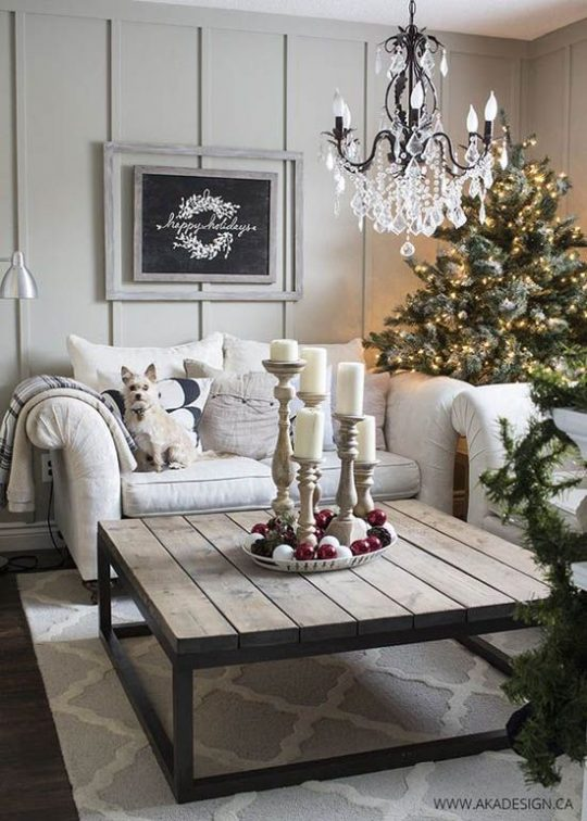 Christmas Decoration Inspirations-Sights in the Sun Life & Style Blog