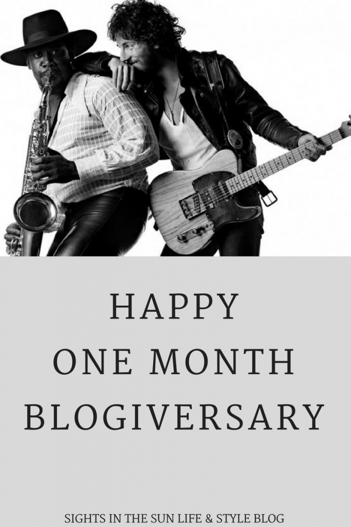 1 month Blogiversary! Sights in the Sun Life & Style Blog
