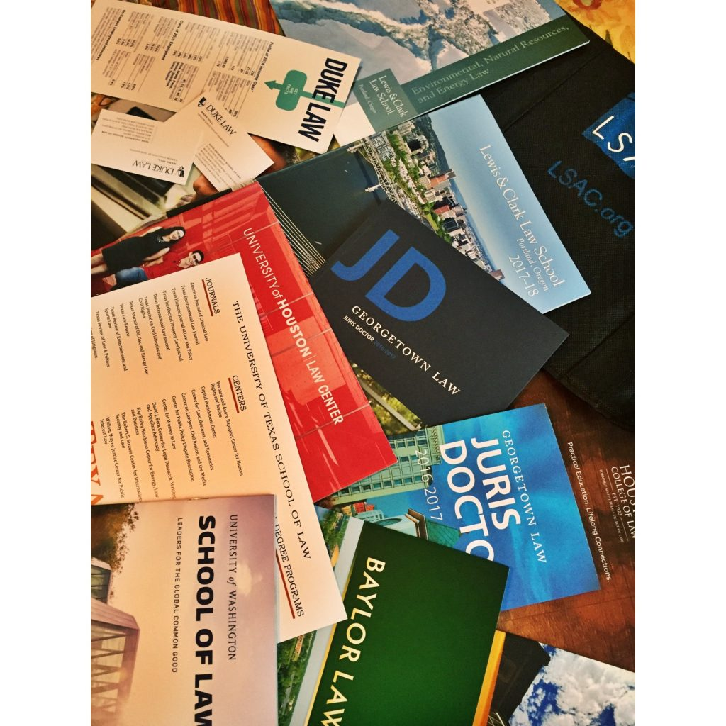 law school brochures from the LSAC LA Forum-Sights in the Sun Life & Style Blog