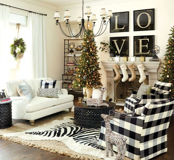 Christmas Decoration Inspiration-Sights in the Sun Life & Style Blog