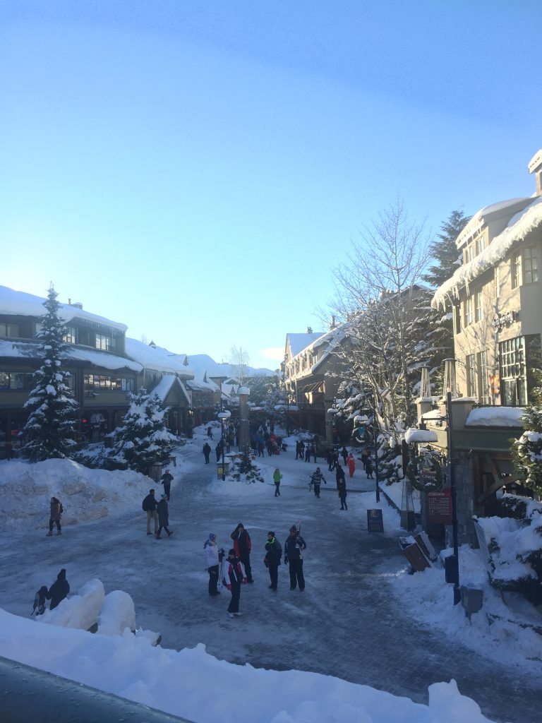 Views in Whistler Village